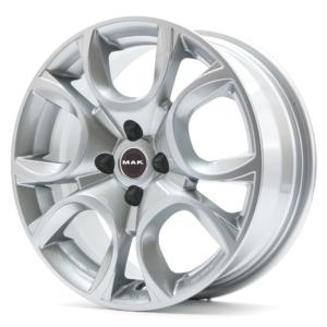 Opel velg MAK Torino Silver