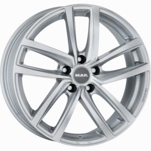 Audi velg MAK Dresden Silver