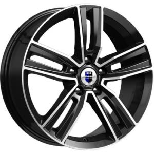 Volkswagen velg KIK Tanais Black Polished
