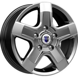 Renault velg KIK Ellada Dark Platinum