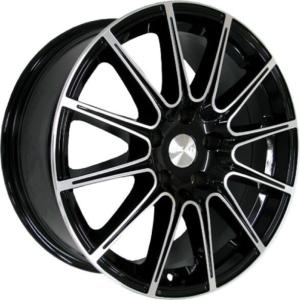 Volkswagen velg SKAD LeMans Black Polish