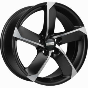Volkswagen velg Fondmetal 7900 Black Poli