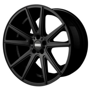 Porsche velg Fondmetal STC10 Mat Black