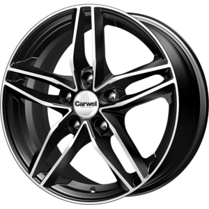 Toyota velg Carwel Tau Black Polished