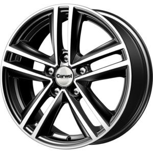 Toyota velg Carwel Nero Black Pol