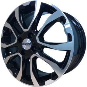 Volkswagen velg Carwel Nuke Black Pol