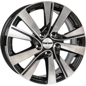 Volkswagen velg Carwel Girvas Black Polished