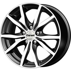 Volkswagen velg Carwel Bekan Blk Pol