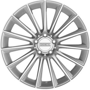 Volkswagen velg Fondmetal Aidon Gl Silver