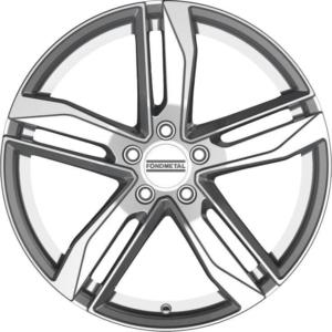 Volkswagen velg Fondmetal Hexis Gl Silver