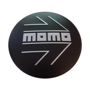 velg Momo Cap Arrow Matt Black